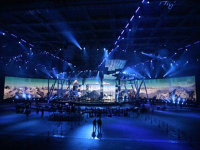 """Для """"Евровидения-2009"""" открылся Евродом"""