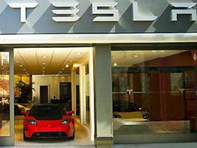 Tesla едет завоевывать Европу: первый салон электро-бренда открыт