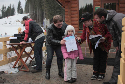 Фестиваль моржей - буковель