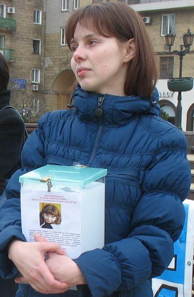 Волонтер Маша Борисова