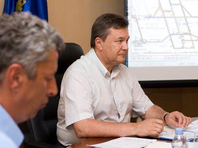 Виктор Янукович - шахта Суходольская-Восточная