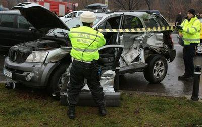 ДТП в Бухаресте - пострадал Мирча Луческу