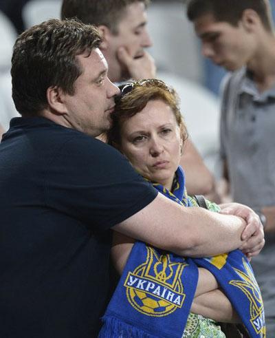 Украина-Франция. Для многих итог матча стал настоящей личной драмой.