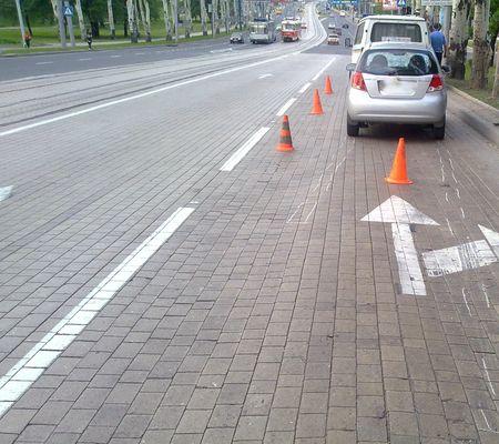 Небрежные пешеходы