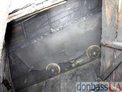 вагонетка с углем