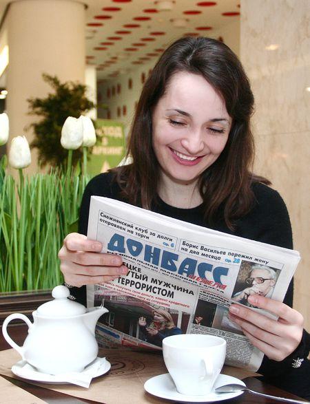 Екатерина Лагно: «Чтение «Донбасса» поднимает настроение».