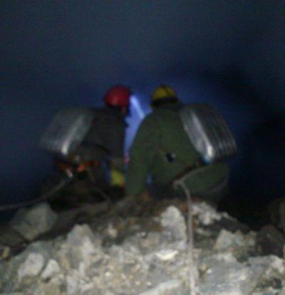 тушение подземного пожара