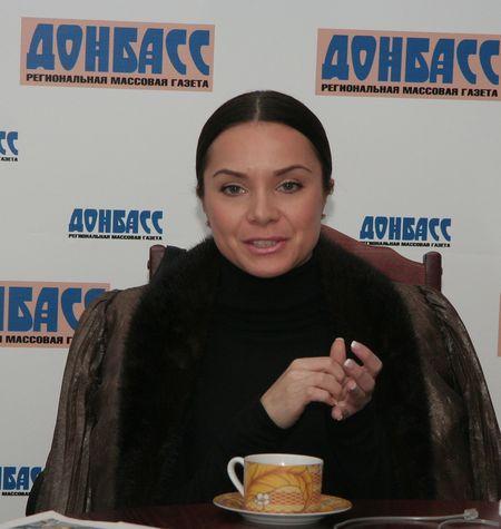 Лилия Подкопаева  в гостях у